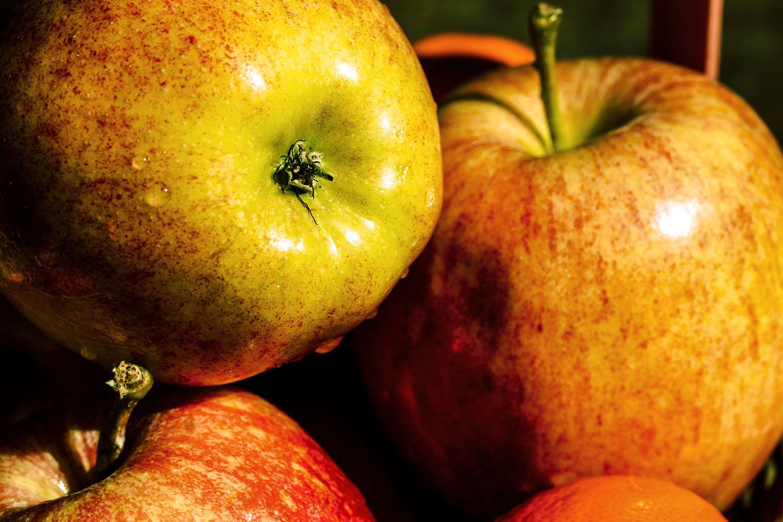 Goda och nyttiga äpplen