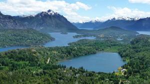 Bariloche i Patagonien