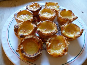 pastéis de nata - Portugisisk bakelse