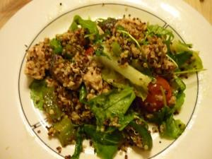 Quinoa kycklingsallad