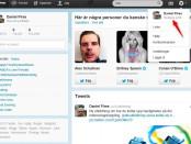 Twitter till Facebook